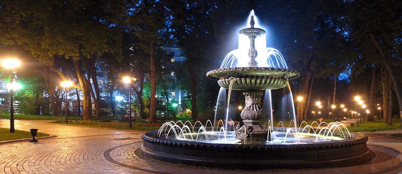 Fountain in Mariinsky park2